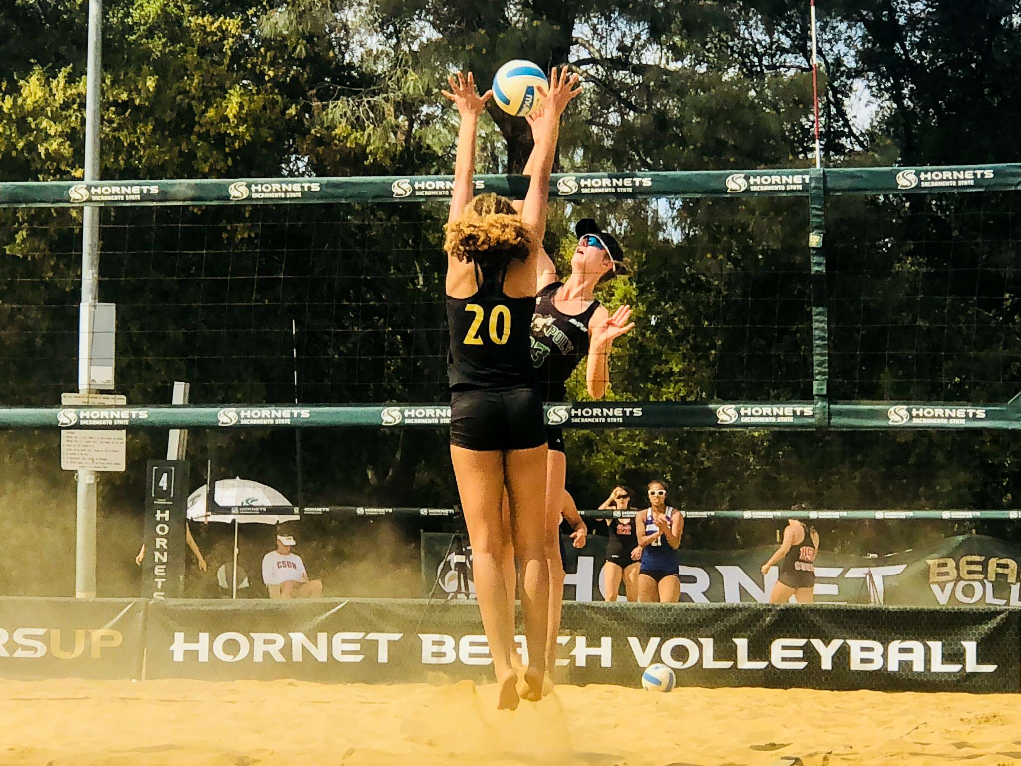 Beach Volleyball Rises To Fifth In The Nation Mustang News