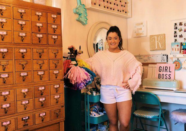 Kate Hardisty of Balloon Girl SLO in San Luis Obispo