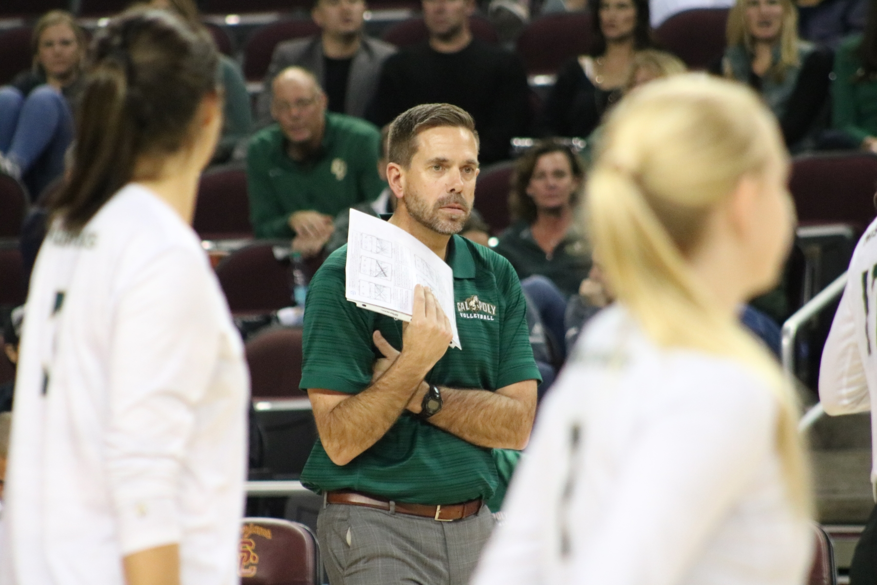 Sam Crosson Leaves Cal Poly Volleyball Joins Cal As Head Coach Mustang News