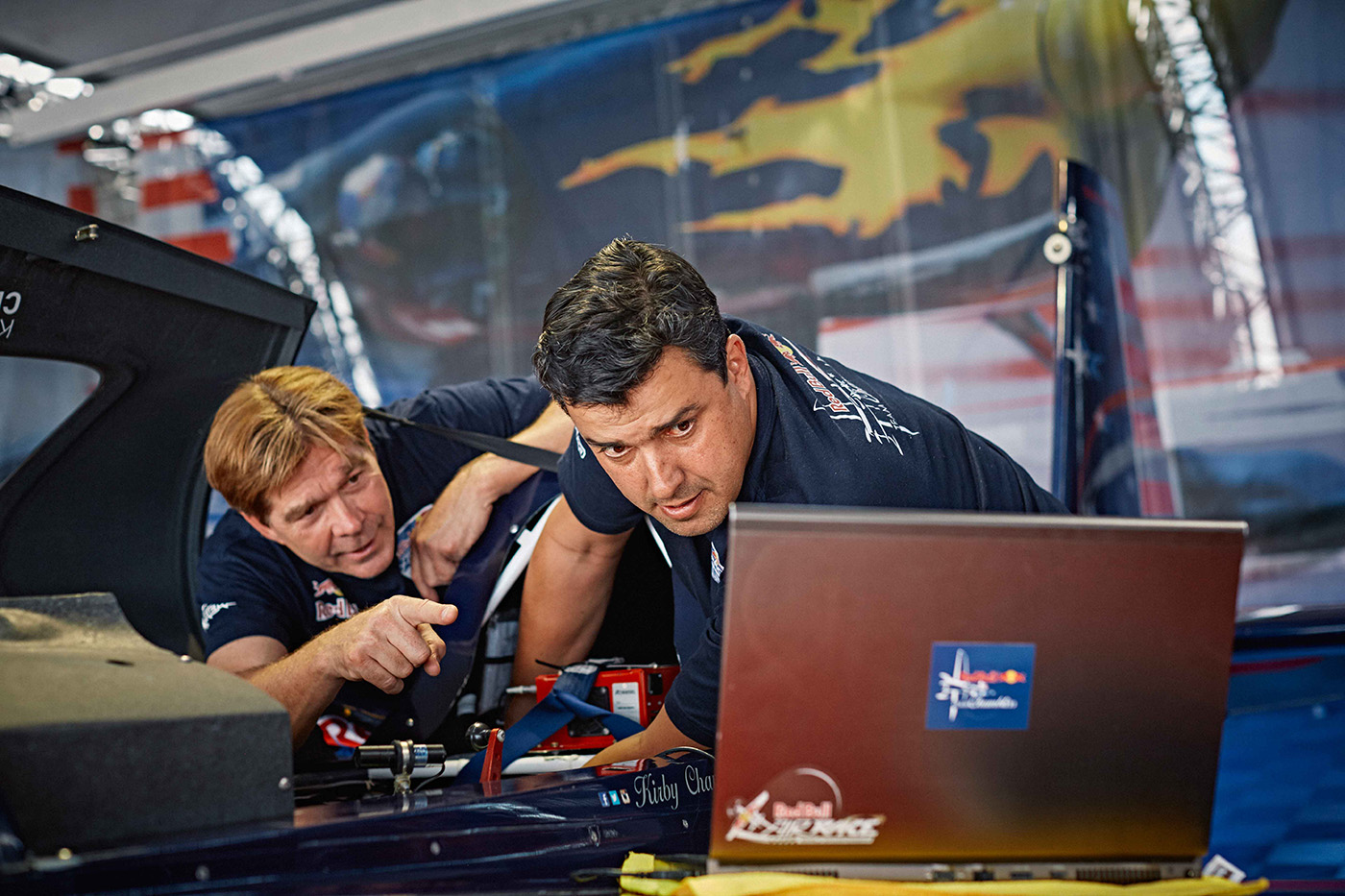 Aerospace engineering professor jets off to the Red Bull Air