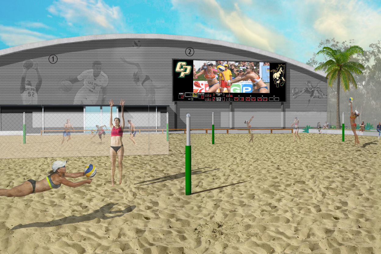 One Of The Best Beach Volleyball Teams In The Nation Doesn T Have Their Own Courts That May Change Soon Mustang News