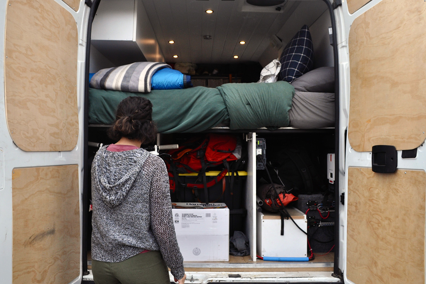 San Luis Obispo students are choosing to live in vans to