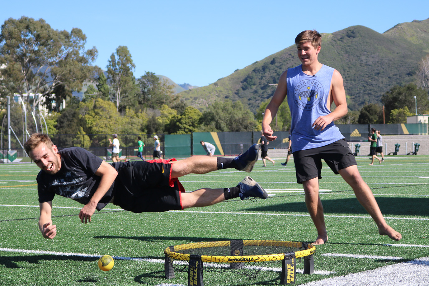 No. 1 ranked Spikeball duo heads to nationals this weekend ...