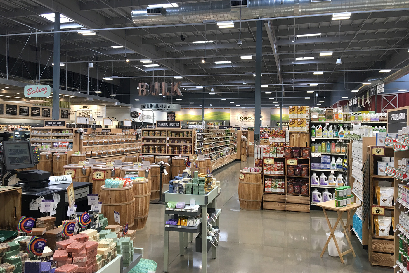San Luis Obispo's very own Sprouts Farmers Market now open