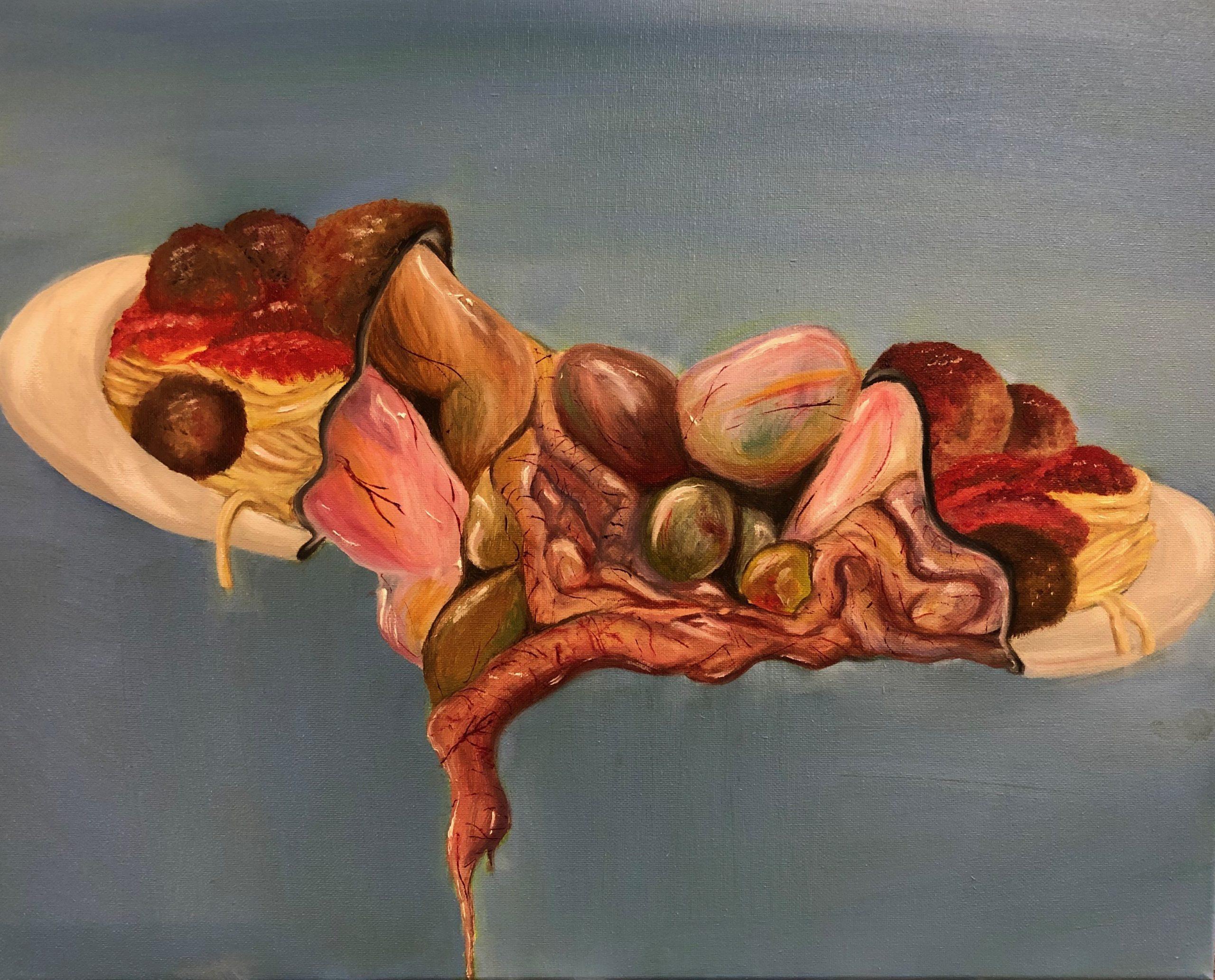"""""""Vision"""" by Nanda Ortíz. 18 x 24 in, 2020"""