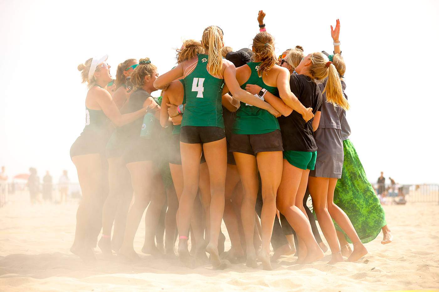 Beach Volleyball falls to No. 1 UCLA in NCAA Tournament to end their historic season